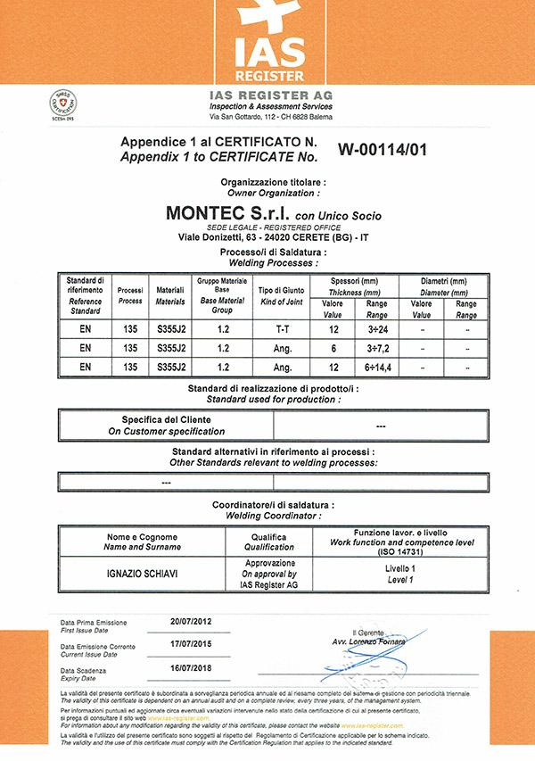 """Centro di Trasformazione """"Officina per la produzione di carpenteria metallica"""""""