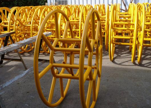 Costruzione di bobine per avvolgicavo settore elettrico