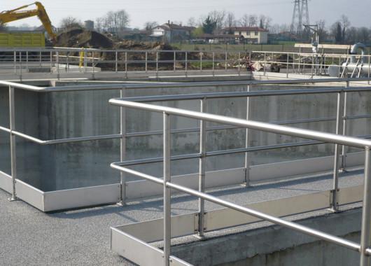 Costruzione impianti di depurazione in acciaio inox e zincato a caldo