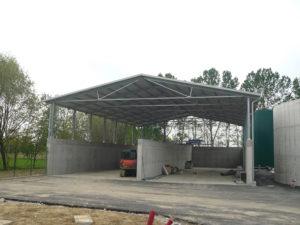 Realizzazioni di capannoni completi di copertura