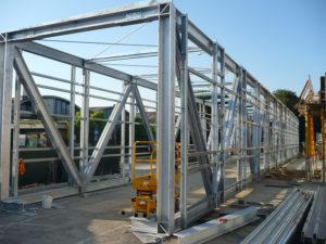 Costruzione e montaggio ponte Intertaba Montec Srl carpenteria metallica e costruzioni 7