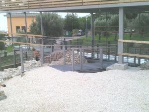 Copertura sito archeologico